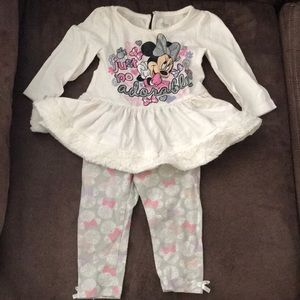 Disney Baby top & bottom set